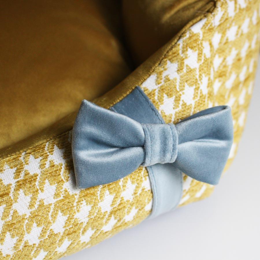 Bed Glamour gold リボン部分アップ(ベッドグラマー ゴールド)