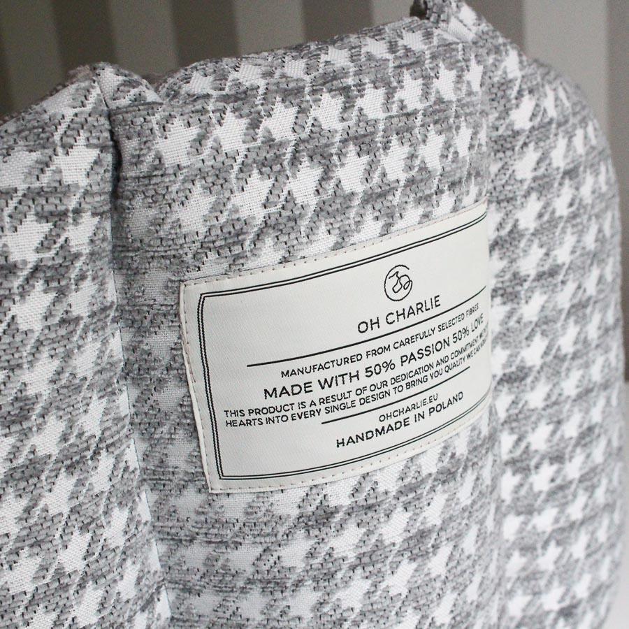 Bed Glamour grey ロゴ部分(ベッドグラマー グレー)