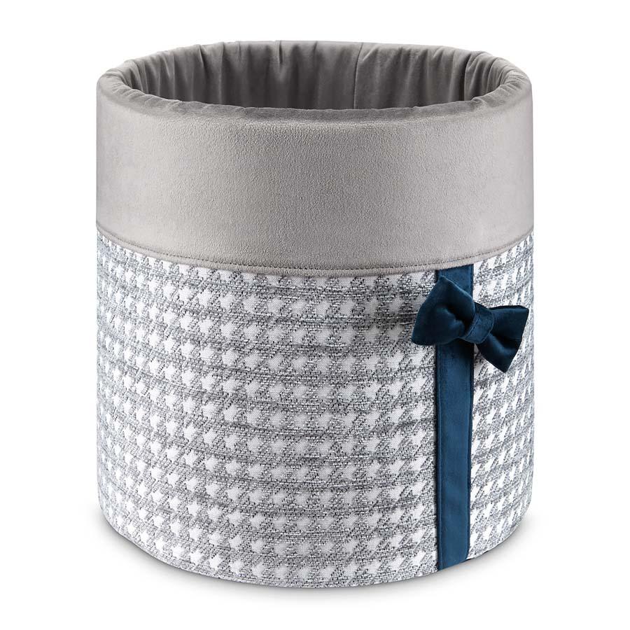 Box Glamour grey(おもちゃ箱(物入れ)グラマー グレー)