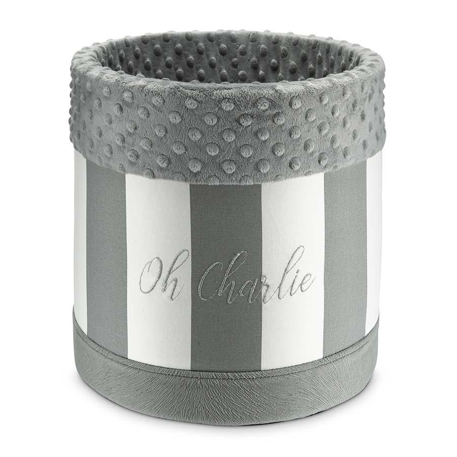 Box Lisbon grey(おもちゃ箱(物入れ) リスボン グレー)