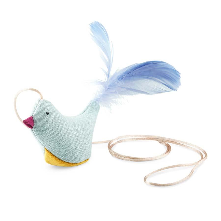 Toys CAT bird blue (おもちゃ 猫じゃらしバード ブルー)