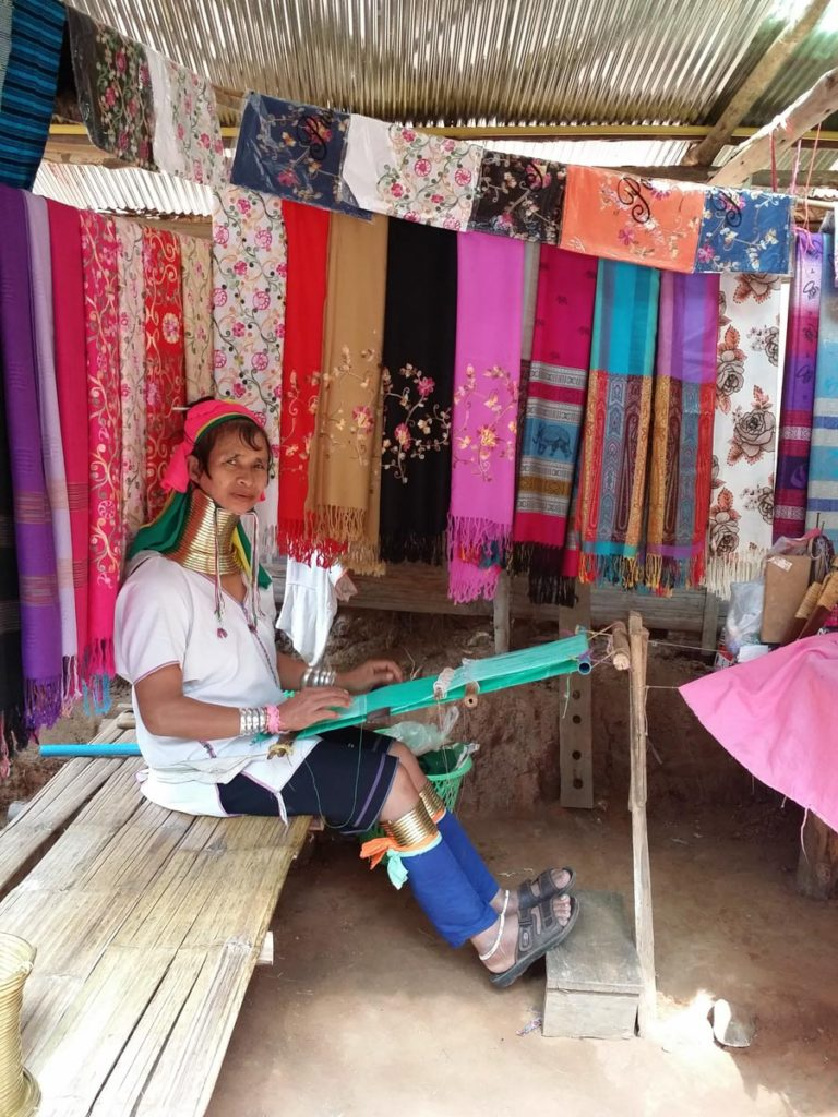 タイ チェンマイの山岳民族